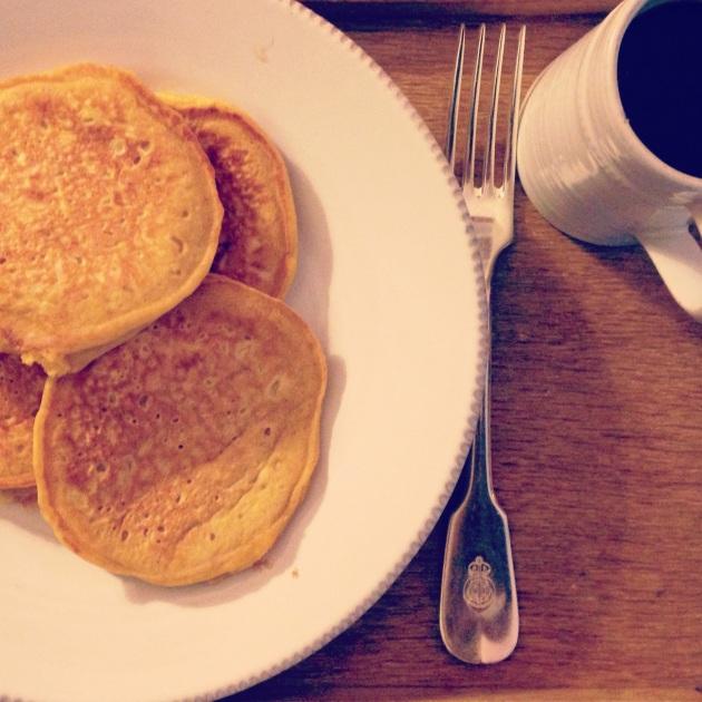 pumpkin pancakes   madeline made