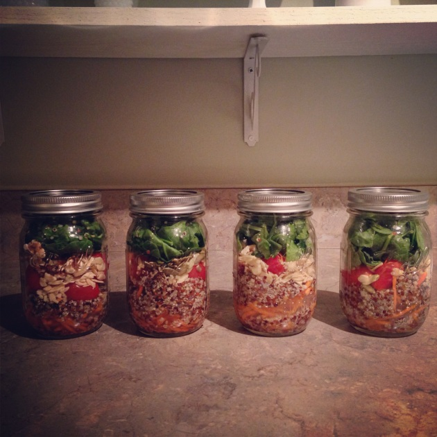 mason jar salads   madeline made