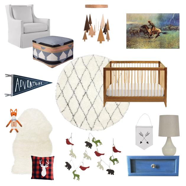 woodland nursery | madeline made