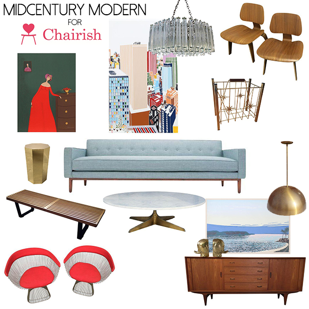 midcentury modern for chairish