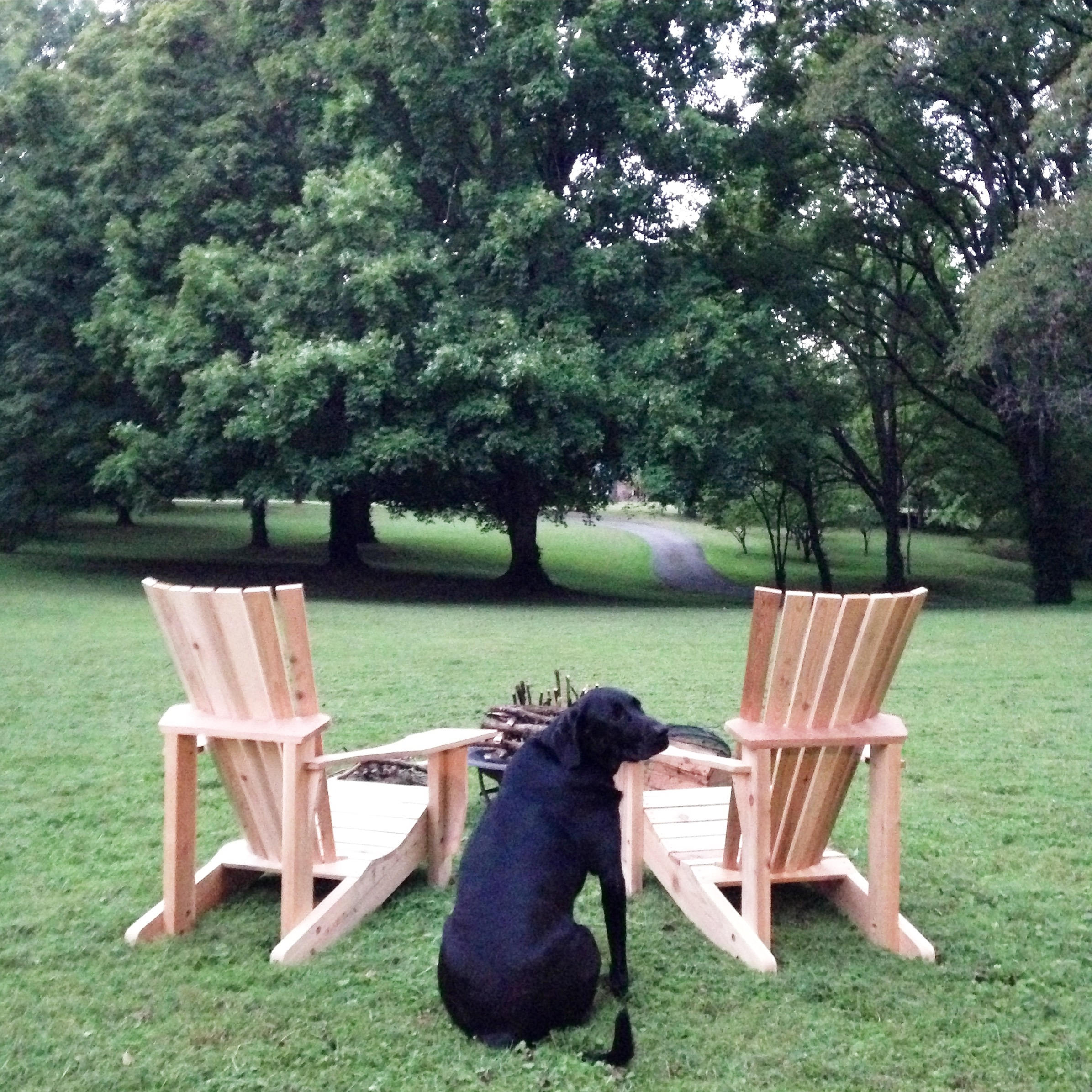 handmade adirondack chairs {for sale}